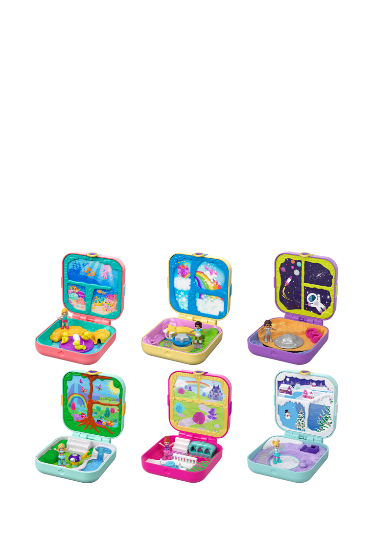 Polly pocket® мини-мир в ассорт. Pocket